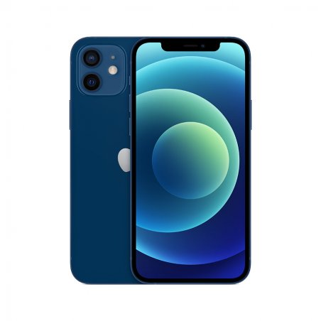 iPhone 12 - bleu - De dos et de face