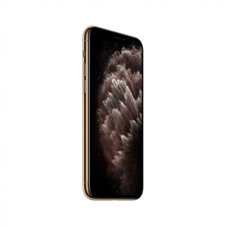iPhone 11 Pro Max Or de profil