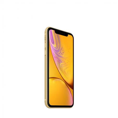 iPhone XR - Jaune avec écran Liquid Retina HD résistant à l'eau (IP67) et app photo grand angle 12Mpx
