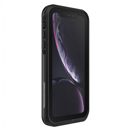 coque iphone xr noire choc