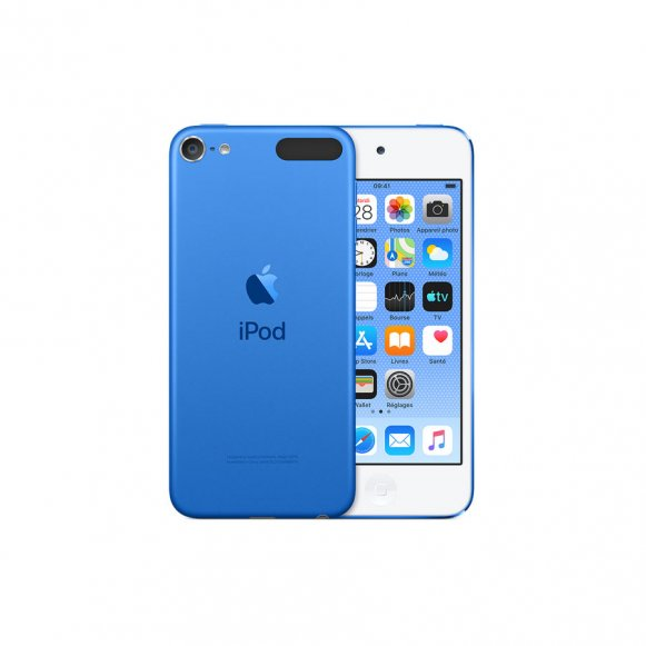 "iPod touch bleu avec écran panoramique de 4 "" (diagonale) techno IPS Multi-Touch"