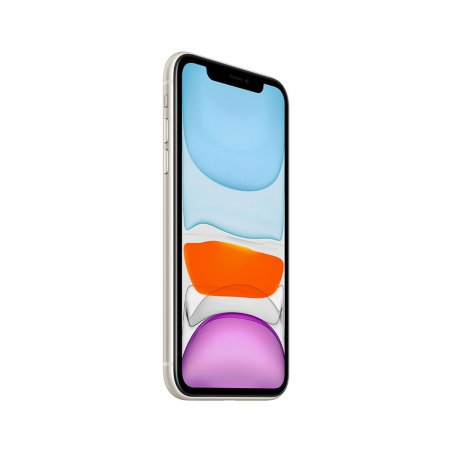 iPhone 11 Blanc de profil
