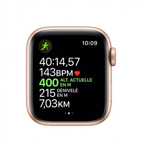 illustration des fonctions d'assistance à la course de l'AppleWatch serie 5