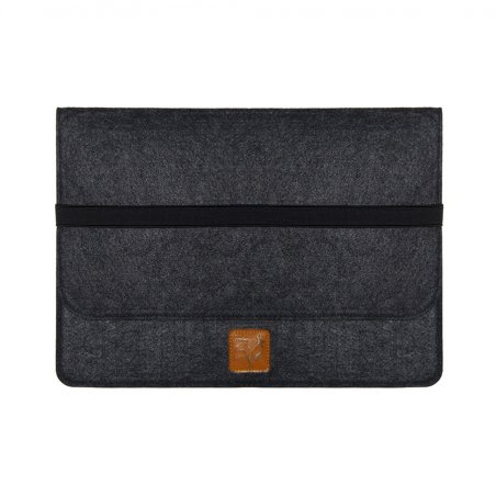 Housse Very Bad Coque MacBook Pro noire de face