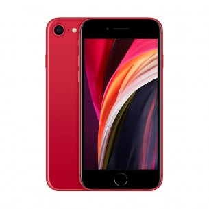 iPhone SE rouge de face et de dos