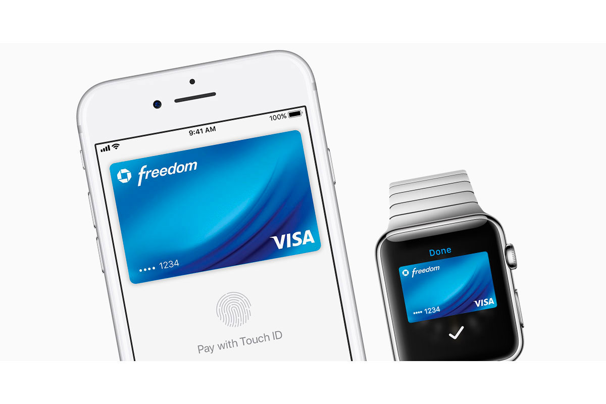 Image d'illustration d'Apple Pay sur iPhone et AppleWatch