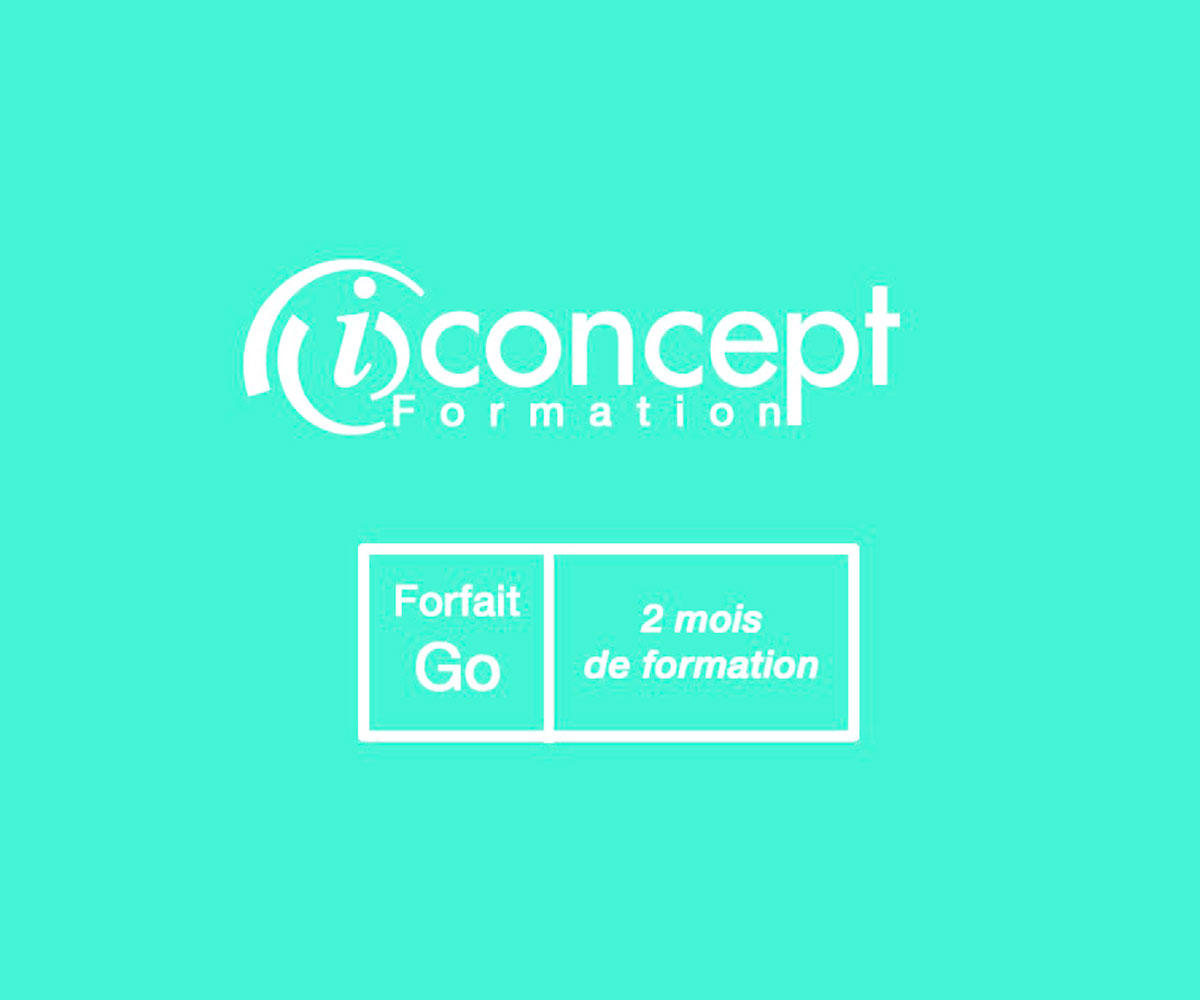 Logo iConcept Formation 2 mois