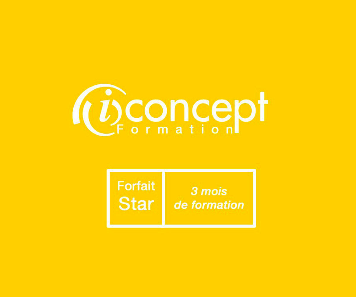 Logo formation iconcept 3 mois