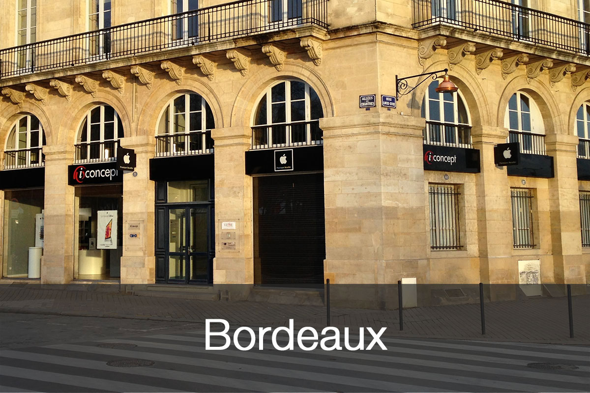 iConcept Bordeaux : le premier magasin Apple en centre ville avec un service d'assistance