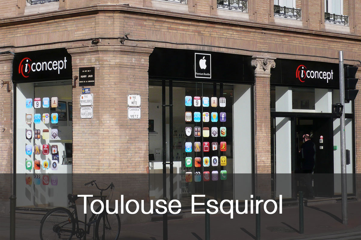 La facade de la boutique iConcept Esquirol