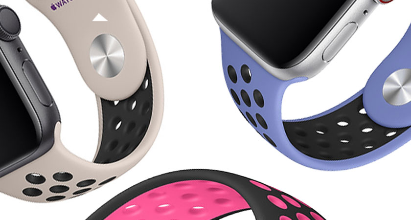 zoom sur bracelets Apple Watch