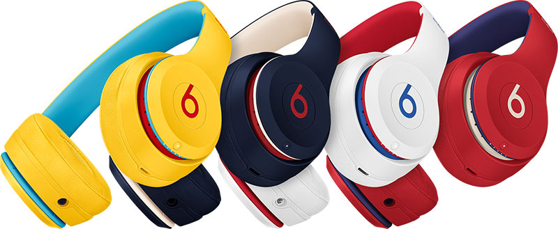 Casques solo 3 collection Club - gamme complète
