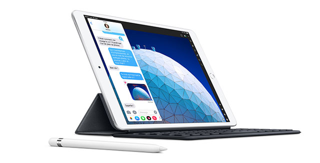 iPad Air avec Smart Keyboard et l'Apple Pencil
