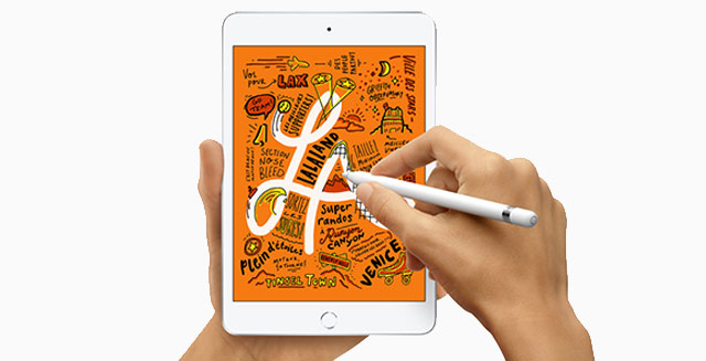 iPad mini avec Apple Pencil