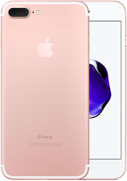 iPhone 7 Plus Or rose