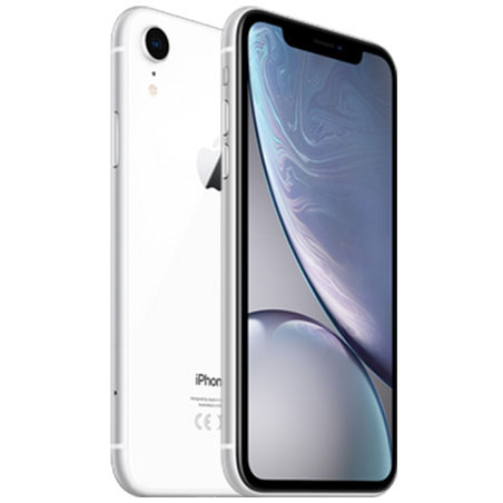 l'iPhone XR Blanc