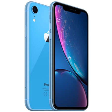 l'iPhone XR Bleu