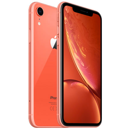 l'iPhone XR Corail