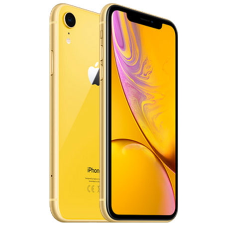 l'iPhone XR Jaune