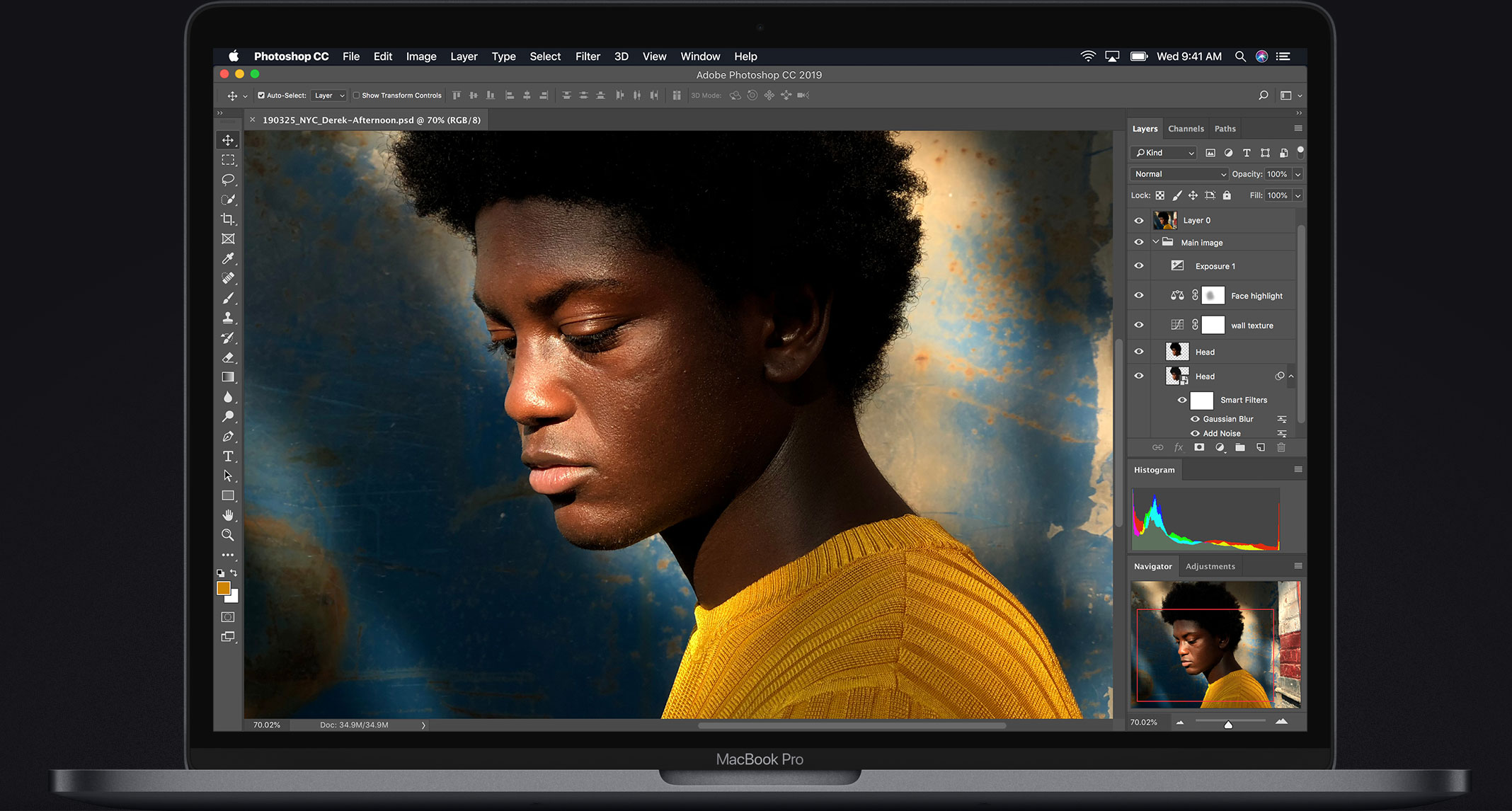 Illustration de l'écran Retina du MacBook Pro