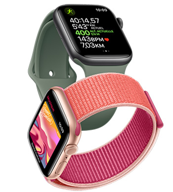 Apple Watch Series 5 bracelet sport et boucle sport