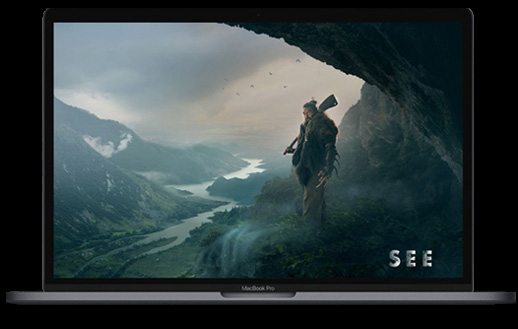 photo macbook ouvert avec SEE