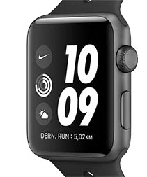 Application Watch Noir Nike