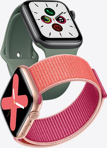 Apple Watch Nike series 5 bracelet boucle sport et bracelet sport pinède