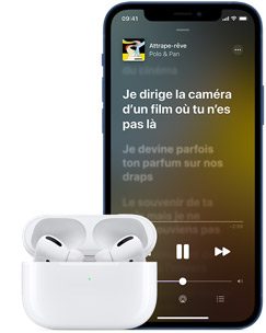 Apple Music et iPhone 12 Pro
