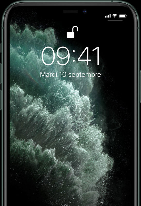 iPhone 11 Pro - respect vie privée