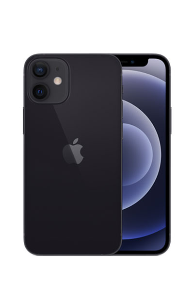 iPhone 12 mini noir