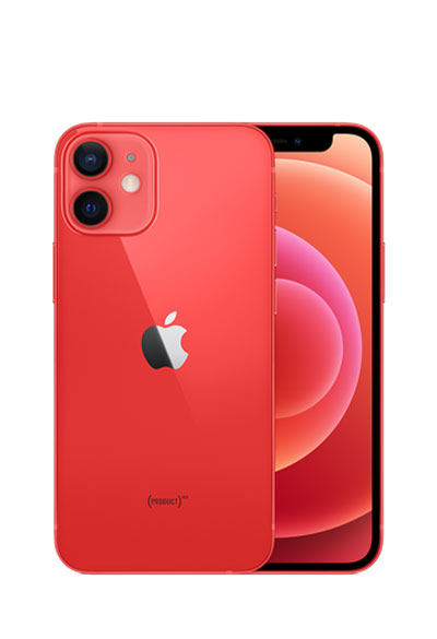 iPhone 12 mini rouge