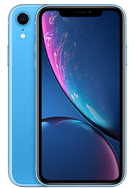 iPhone XR coloris bleu