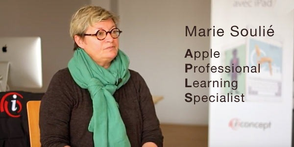 Portrait de Marie Soulié  - Apple Professional Learning Specialist